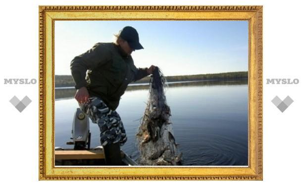 В Туле запретят продавать рыболовные сети?