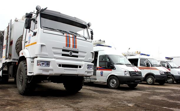 Для тульского МЧС закупили новые спасательные автомобили