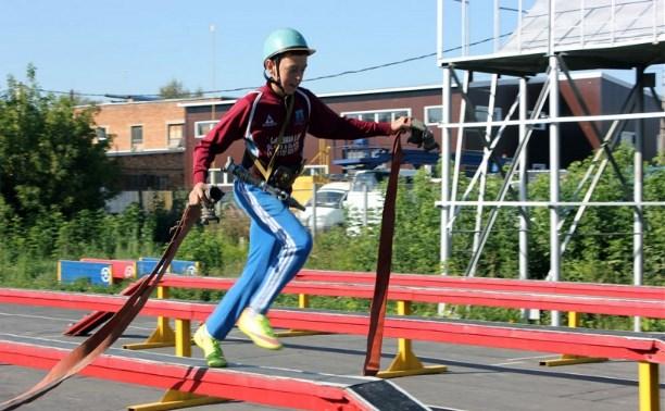 В Туле прошли областные соревнования добровольных пожарных дружин