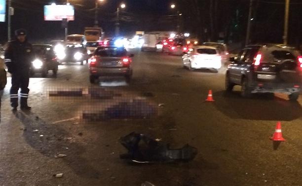 Пешеходов на Новомосковском шоссе сбили дважды