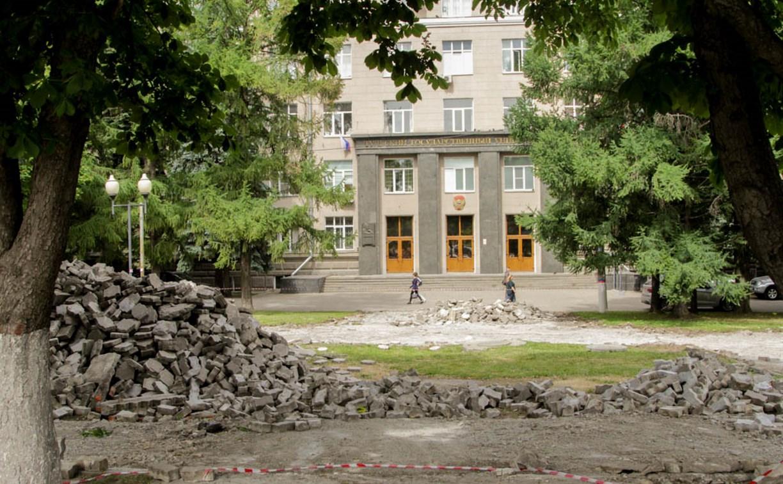 В Туле начали ремонт скверов – победителей общегородского голосования