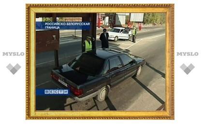 На российско-белорусской границе перестанут досматривать машины