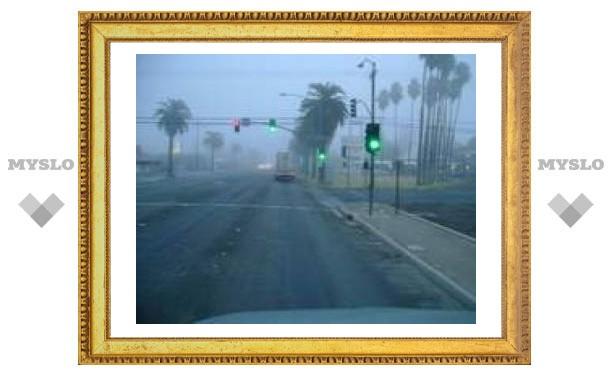 На Калифорнию обрушился шторм