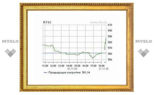 РТС и ММВБ открылись резким ростом