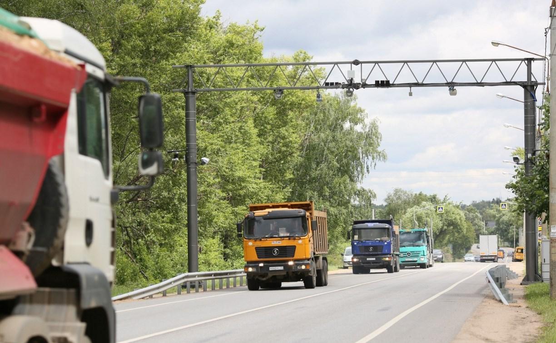 На дорогах Тульской области появятся автоматические пункты весогабаритного контроля