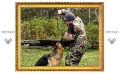 Тульские дрессировщики собак признаны лучшими в России