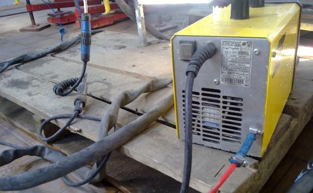 В Туле сотрудник предприятия украл дорогостоящий сварочный аппарат
