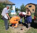 В тульском поселке Торхово нашли 10 незаконных врезок в водопровод