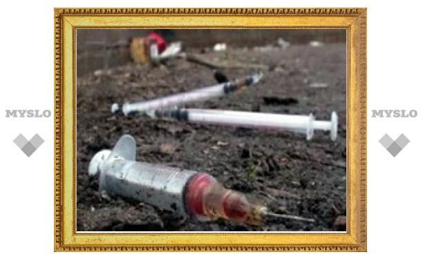 В Алексине с поличным пойман наркоман