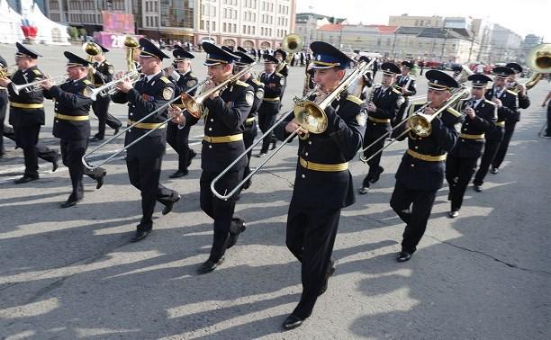 В Тульской области прошел Всероссийский фестиваль духовых оркестров