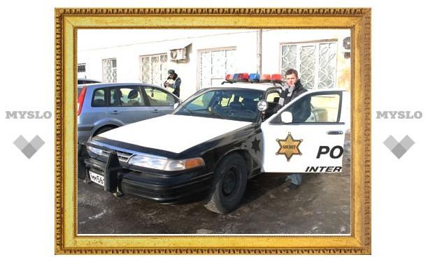 Туляк купил себе «полицейскую» машину