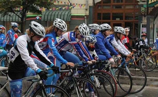 В Туле прошла велогонка «Горный король-2013»