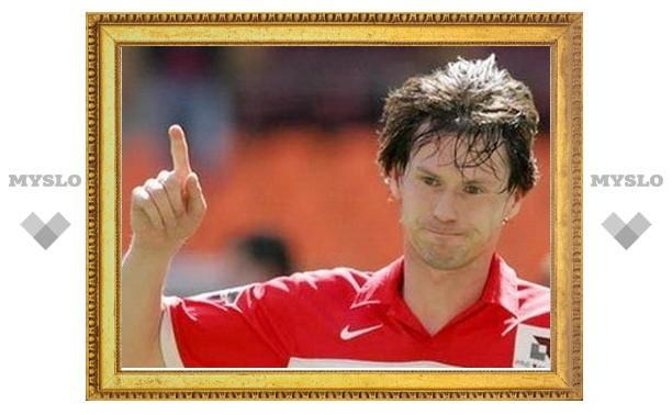 Титов забил первый гол за «Арсенал»