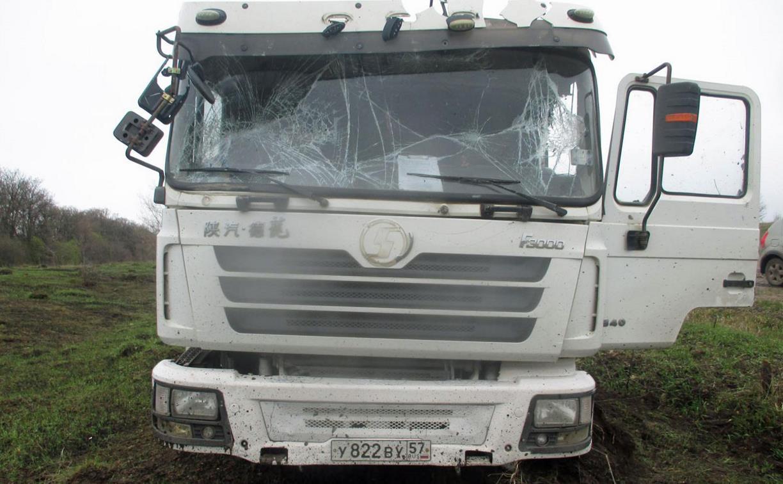 В Тульской области водитель пострадал при буксировке грузовика