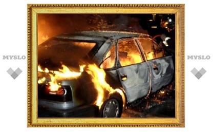 Под Тулой поймали поджигателя машин