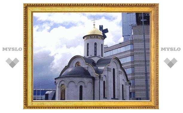 В московском экспоцентре освятят православный храм