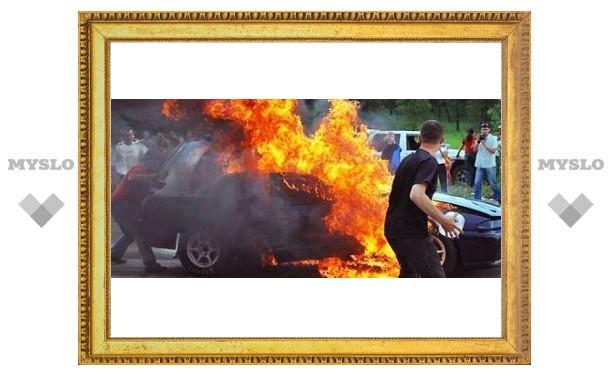Почему в Туле горят автомобили
