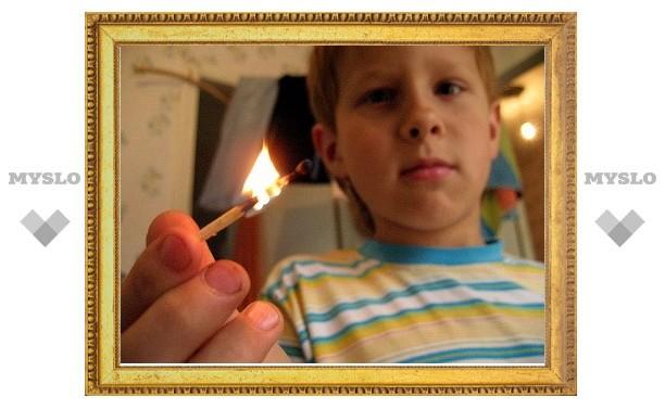 Тульский школьник спалил квартиру
