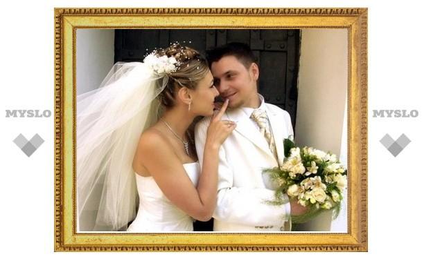 Тульские загсы заранее обеспокоились грядущим свадебным бумом