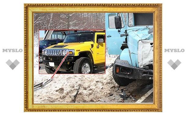 В аварии с маршруткой и ЗИЛом был третий автомобиль