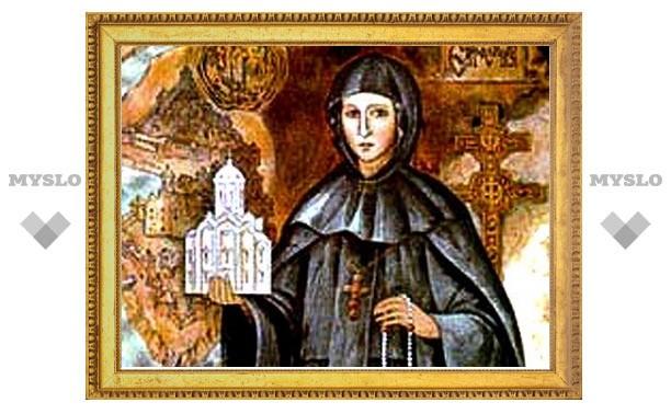 В Тулу прибудут мощи святой Евфросинии Полоцкой