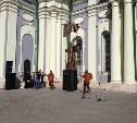 В Тульском кремле освятили памятник Дмитрию Донскому
