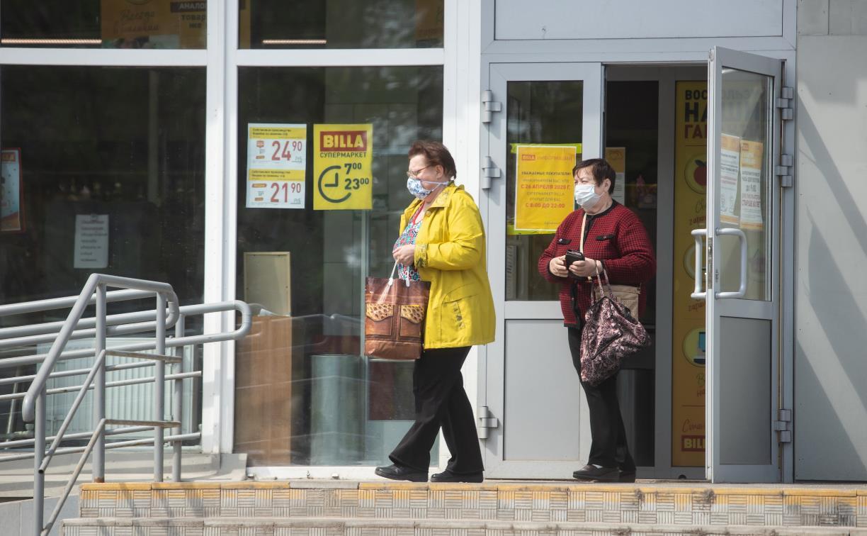 В Тульской области штрафуют покупателей без масок