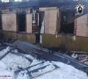 В тульском поселке на пожаре погиб мужчина