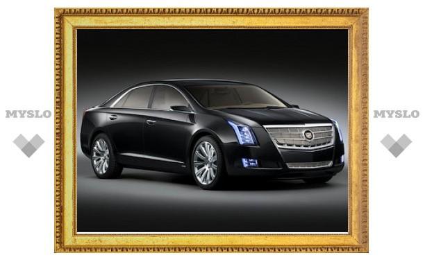Компания Cadillac показала прототип нового флагманского седана