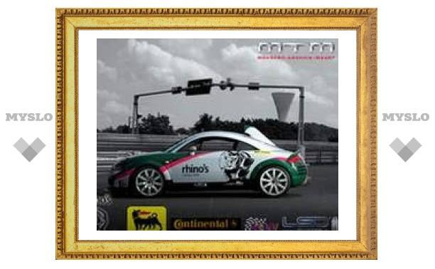 Двухмоторный Audi TT разогнался до 393 километров в час