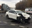 В Тульской области столкнулись два автомобиля