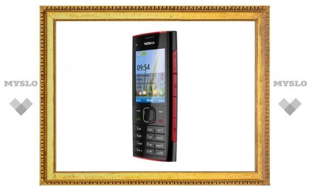 Nokia анонсировала бюджетный музыкальный мобильник