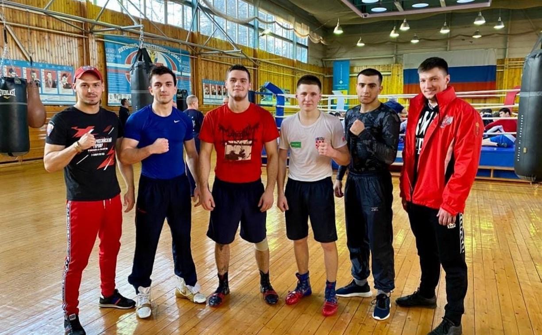 Тульские боксеры готовятся к командному Кубку России