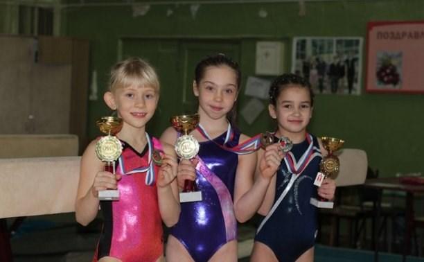 Юные тульские гимнастки привезли шесть медалей из Орла