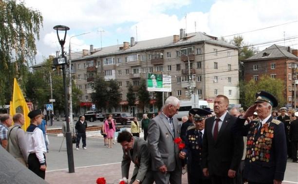 В Туле прошёл митинг в честь 160-й годовщины со дня рождения Всеволода Руднева