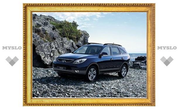 Hyundai ix55 получил в России новые комплектации