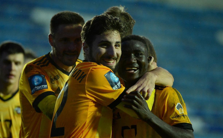 Тульский «Арсенал» разгромил брянское «Динамо» со счетом 6:1