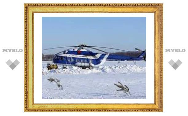 Пропавший в Коми вертолет Ми-8 обнаружен