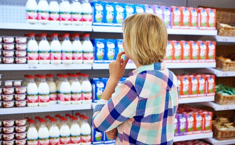 В Тульской области за полгода подешевело молоко