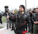 Байкеры из «Ночных волков» и «Русских мотоциклистов» привезли в Тулу «Огонь Памяти»