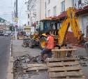 В Туле на ул. Советской стартовали работы по ремонту тротуара