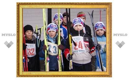 В Щекино состоялся ежегодный «День лыжника»
