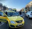 На ул. Октябрьской водителю такси стало плохо на дороге после ДТП