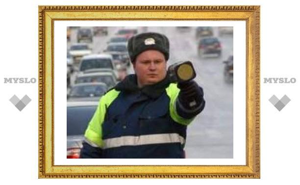Тульских водителей будут штрафовать по-новому