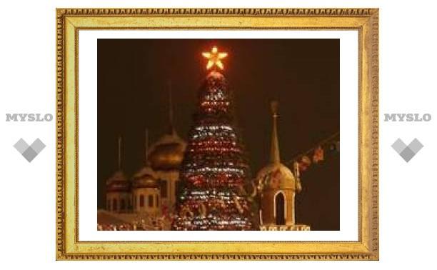 Главная елка Тулы откроется 26 декабря