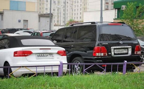 В России хотят запретить выдавать госномера типа «В…ОР»