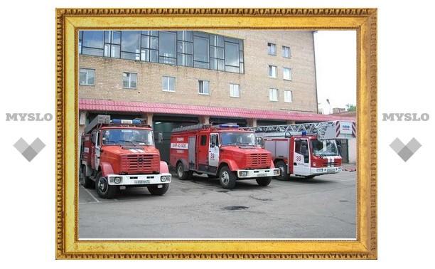 Сегодня в Щекине появится новая пожарная часть