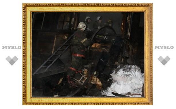 В Туле в сгоревшем доме найдены тела троих мужчин