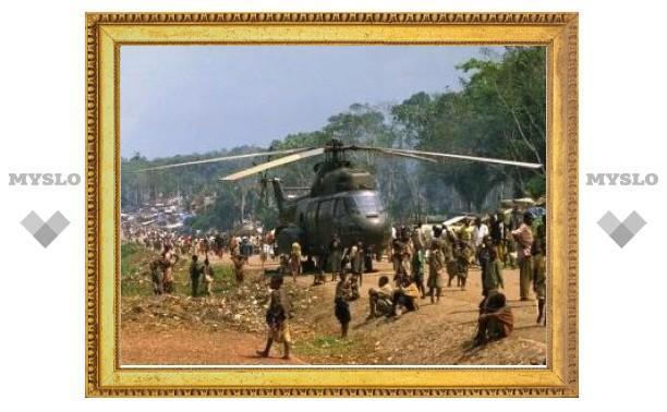 В Камеруне упал военный вертолет с отставным полковником ЦАХАЛа