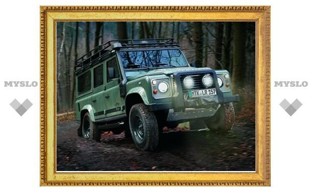 Land Rover построил Defender для охотников